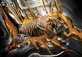 The Tigerrrrrrr smudge .. by fesell
