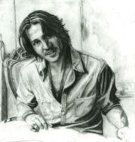 Still Working on Mr J Depp by Eilstina