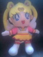 Sailor Moon Plushie by g-girl1