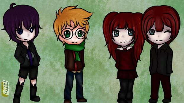 Emmette, Evan, Blossom And Branch by lima480