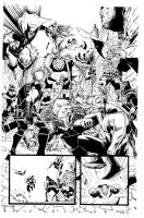 Avengers By Scalera New Clean by lobocomics