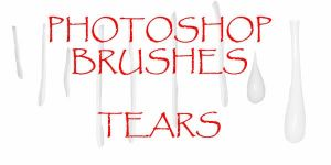 Photoshop CS - Tear Brushes by firebug-stock