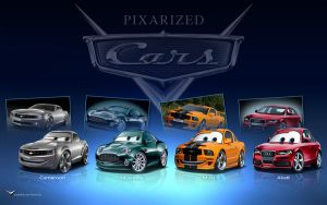 Pixarized Cars by danyboz