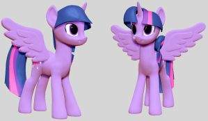 Princess Twilight Sculpt WIP by Geminas0wng