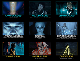 Tron Alignment Chart by GodofPH