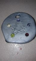 Pentacle Pendant front by AluminumSunset