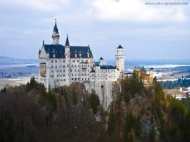 Neuschwanstein 9 by Anne-Cathy