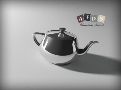 First 3D work by ABDULLAH1995
