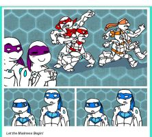 Tumblr Post: TMNT Double Fast Forward by deda123