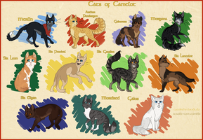 Cats of Camelot by CatsInTheClouds