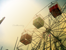 ferris wheel. by monsterseverywhere