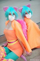 Raver Cats by Mashimai