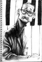Bill Evans by Parpa