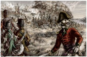Battle of Queenston Heights by redcoatcat