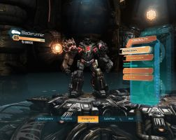 Transformers Fall Of Cybertron Bladerunner: r-mode by Deceptihog001