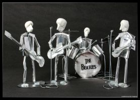 The Beatles by m0rpheus