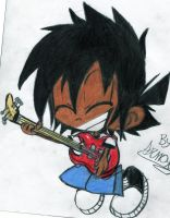 OC Aaron.:RockingOut:. by Armonsterz