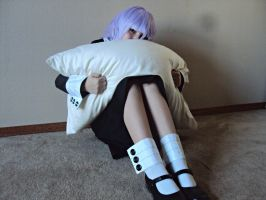 Crona Pillow Hug 1 by DevanTheNoob