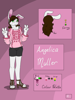 Angelica Muller by SilverWingInk