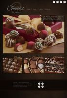 Chocolat by Daniel Website Re-design by LypticDesigns