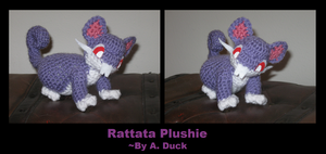 Rattata Plush Request by Milayou