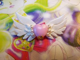 Eternal Sailor Moon's Brooch by littlemooglet