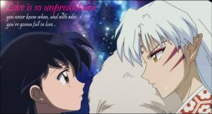 Sesshomaru and Kagome by FeniksStar
