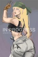W.I.P Level1 Winry Rockbell (PATREON RAFFLE WIN!) by customwaifus