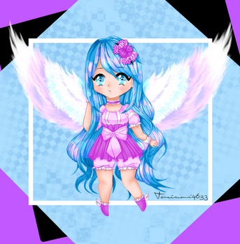 [OC] Angel Toriumi Chibi by Toriumi4633