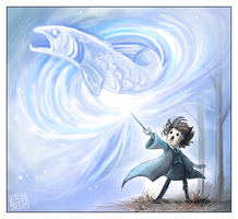 Expecto Patronum by griffsnuff
