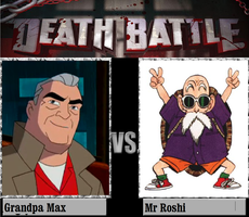 Grandpa Max Vs Mr Roshi by newsuperdannyzx