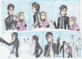 Zadr- Snow Men by flying-monkey-army