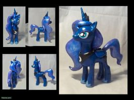 Princess Luna Sculpture by CadmiumCrab