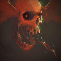30 minute skull by JulioNicoletti