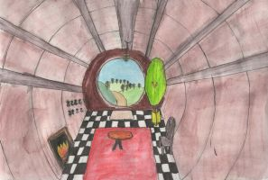 Hobbit Hole (colour) by Ruth-1