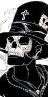 BARON SAMEDI - DETAIL by Nabootique