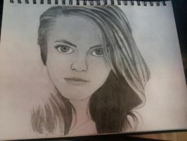 Portrait Attempt by Britty-Mae