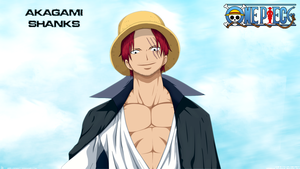 Shanks Wallpaper by DEIVISCC
