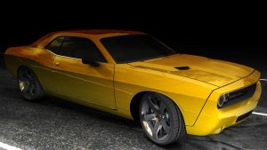 Dodge Challenger RT by 100SeedlessPenguins