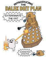 Dalek Diet Plan by JohnRaptor