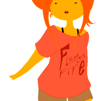 Flame princess by exjuice