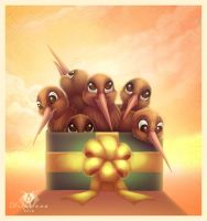 Box of Kiwis by DolphyDolphiana