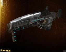 NOGARI SMG [The Scourge Project] by Goreface13