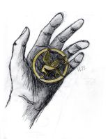 The Mockingjay by RedHandedJill44