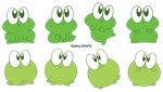 Cute Froggies by Daieny