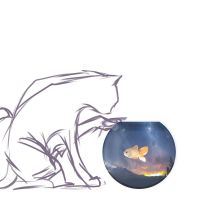 Doodles: Cat Night by NAD-LifeOfficial