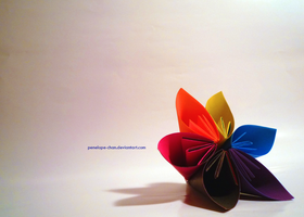 origami flower by Penelope-Chan