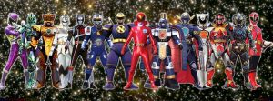 Super Sentai Extra Heroes by jm511