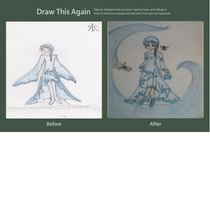 Water Girl Draw this again contest by cicialexa