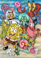 Spongebob by Zadzenea